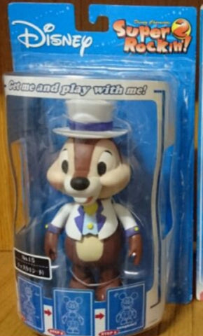 Sega Disney Characters Super Rockin 2 No 15 Toy Chip 'n' Dale Chip Bobble Head Figure