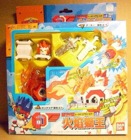 Bandai Keybots Core Monster 01 Blaze Leo Action Figure