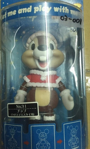 Sega Disney Characters Super Rockin 3 No 31 Christmas Chip 'n' Dale Chip Bobble Head Figure