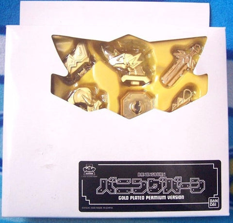 Bandai Keybots Neo Core Monster Baning Burn Gold Plated Permium Limited Ver Action Figure