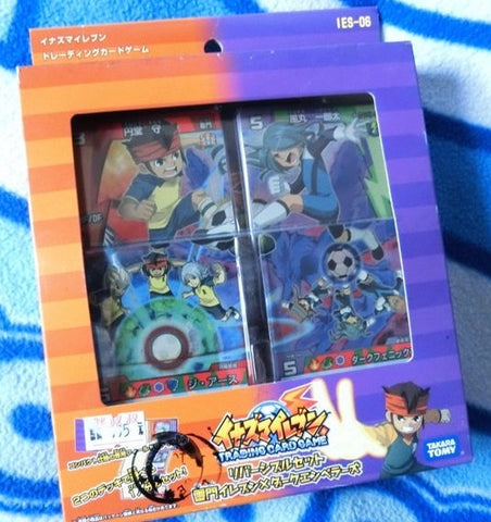 Takara Tomy Inazuma Eleven 11 Go IES-06 Trading Card Game 56 Cards Set