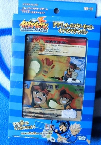 Takara Tomy Inazuma Eleven 11 Go IES-07 Trading Card Game 41 Cards Set