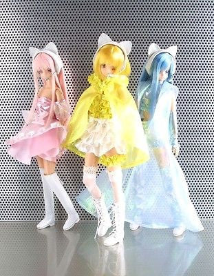 "AZone 1/6 12"" 200 Limited Tokyo Mew Mew 3 Action Doll Figure Set Ichigo Ring - Lavits Figure"