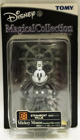 Tomy Disney Magical Collection 008 Steamboat Willie Mickey Mouse Trading Figure - Lavits Figure