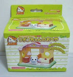Epoch Hamtaro And Hamster Friends White Bijou Mini House Figure Play Set - Lavits Figure  - 2