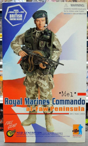 "Dragon 12"" 1/6 British Fighting Soldier Royal Marines Commando Al-Faw Peninsula Mel Action Figure - Lavits Figure  - 1"