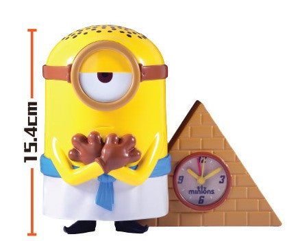 "Minions 7-11 Limited Coin Bank Clock Figure 6"" Egypt Ver - Lavits Figure"