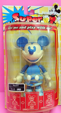 Sega Disney Characters Super Rockin No 07 Mickey Mouse Bobble Head Figure - Lavits Figure