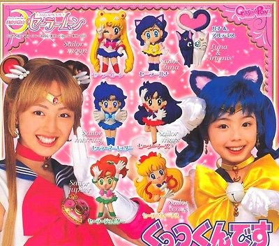 Bandai 2003 Pretty Soldier Sailor Moon Real Gashapon Capsule 7 Magnet Figure - Lavits Figure