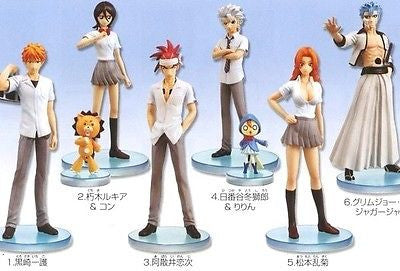 Bandai Bleach Styling Trading Part Vol. 1 6+1 Secret 7 Collection Figure Set - Lavits Figure