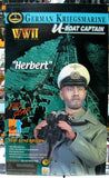 "Dragon 12"" 1/6 WWII German Kriegsmarine U Boat Captain Herbert Action Figure - Lavits Figure  - 1"