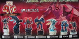 Megahouse Aura Battler Dunbine Chess Piece 12 Trading Collection Figure Set - Lavits Figure  - 2