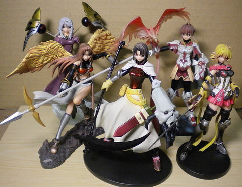 Atelier Sai Spectral Force Neverland Heroine Collection 5 Trading Figure Set Used - Lavits Figure  - 1