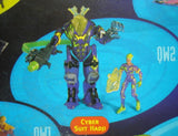 1996 Jonny Quest Cyber Suit Hadji Action Figure - Lavits Figure  - 1