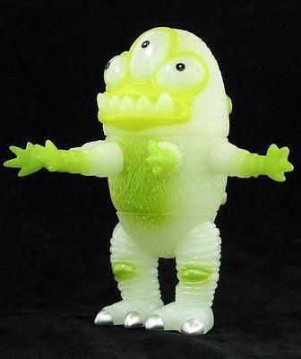"Unbox Industries Jeff Lamm Spikewad Absinthe Claw 6"" GID Ver. Vinyl Figure - Lavits Figure"