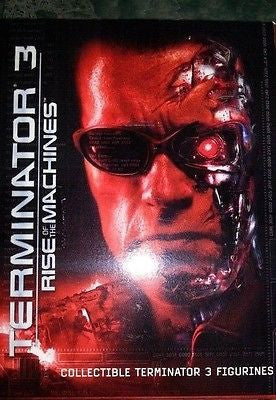 Dreamazz Terminator 3 Rise Of The Machines Trading Collectible Figurines 6 Figure Set - Lavits Figure  - 1