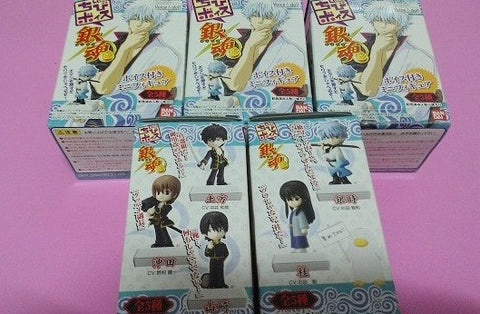 Bandai Gin Tama 5 Sound Trading Collection Figure Set - Lavits Figure  - 1