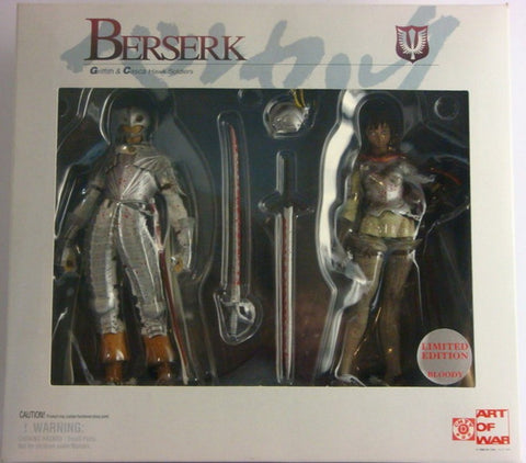 Art Of War Berserk Griffith & Casca Blood Ver Figure - Lavits Figure