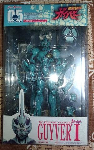 Max Factory Guyver BFC Bio Fighter Wars Collection 05 Guyver I Action Figure Used