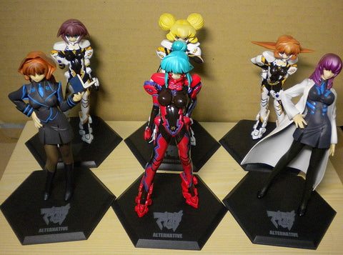 Volks Muv-Luv M.O.E. Age Burning Alternative Ultimate Characters Part 03 6 Figure Set Used - Lavits Figure  - 1