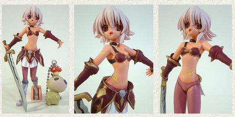 Yamato Hack Sign Lovable Collection Lena Special Pack Trading Figure w/ Book - Lavits Figure