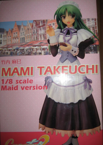 Clayz 1/8 Canvas 2 Mami Takeuchi Maid Version Resin Statue Figure Used - Lavits Figure