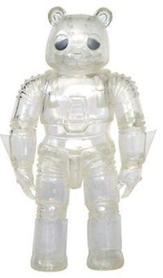 "Intheyellow 2008 Luke Chueh Mecha Sad Bear Kaiju 6"" Clear Ver. Vinyl Figure - Lavits Figure  - 1"