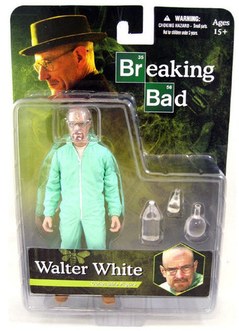 "Mezco Toys Breaking Bad PX Previews Exclusive Walter White Heisenberg Green Suit Ver 6"" Collectible Figure - Lavits Figure"