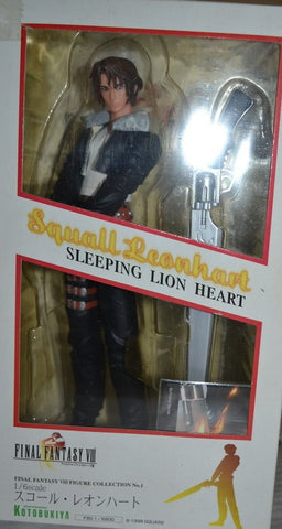 Kotobukiya Artfx 1/6 Final Fantasy VIII 8 Squall Leonhart Sleeping Lion Heart Pvc Figure