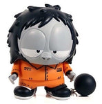 "Toy2R 2007 MCA Evil Prison Ape Orange 6""  Vinyl Figure 250 Limited - Lavits Figure  - 1"