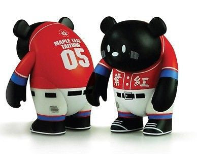 "Adfunture Mania 2009 Yoka Bear Maple Leaf Taitung Limited 3"" Vinyl Action Figure - Lavits Figure  - 1"