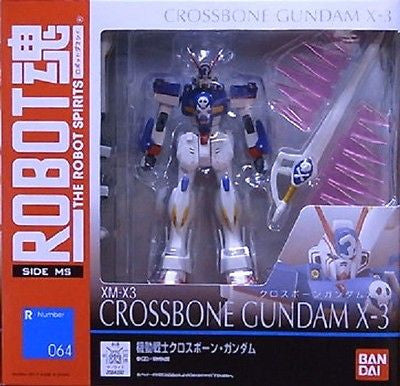 Bandai Robot Spirits R 064 Side MS Crossbone X-3 Action Figure - Lavits Figure