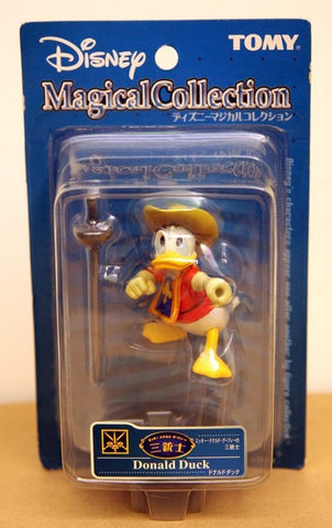 Tomy Disney Magical Collection 111 The Three Musketeers Donald Duck Figure - Lavits Figure  - 1