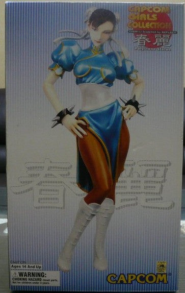 Yamato Capcom Girls Collection Street Fighter Chun Li Polystone Cold C Lavits Figure