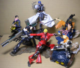 Yamato Story Image Trigun Maximum Yasuhiro Nightow 6 Trading Collection Figure Set Used - Lavits Figure  - 1