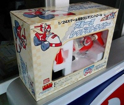 Nikko 1997 1/24 Megaman Rockman Blues Red Remote Control Car Figure - Lavits Figure  - 1