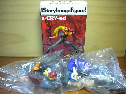 Yamato SIF Story Image Figure S-Cry-Ed 2 Trading Collection Figure Set - Lavits Figure