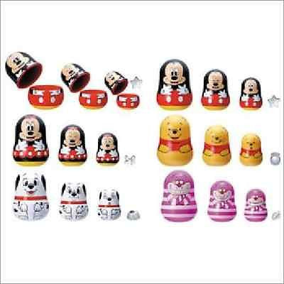 Yujin Gashapon Disney Capacara Folk Art Russian Nesting Doll 5 Mini Figure - Lavits Figure