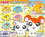 Epoch Craft Time Gashapon Capsule Hamtaro And Hamster Friends 5 Mini Sticker Machine - Lavits Figure
