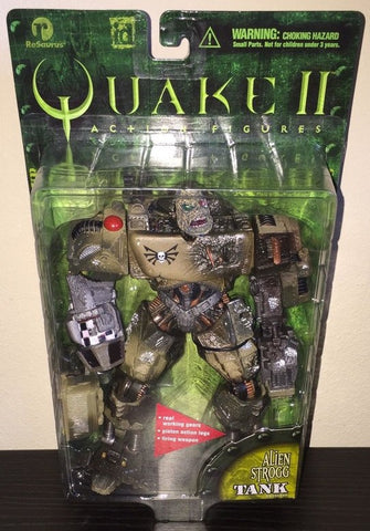ReSaurus Quake II Alien Strogg Tank Action Figure - Lavits Figure
