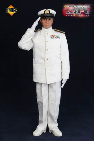 "3 Reich x Fewture 12"" 1/6 Toshiro Mifune Commander In Chief Of Combined Fleet Summer Clothes Version Action Figure - Lavits Figure  - 1"