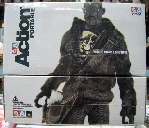 "ThreeA 3A Toys 2010 Ashley Wood  Adventure Kartel Tommy Mission Shadow Ver 12"" Vinyl Figure - Lavits Figure"