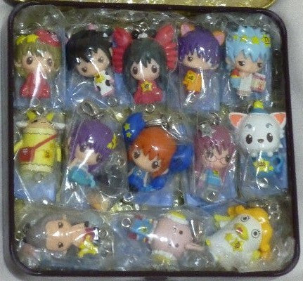Megahouse Gin Tama Chara Fortune Sign Ver 12+1 Secret 13 Mascot Strap Trading Figure Set