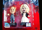 Medicom Toys 1998 Universal  Bride Of Chucky Tiffany Mini Figure Head Poseable - Lavits Figure