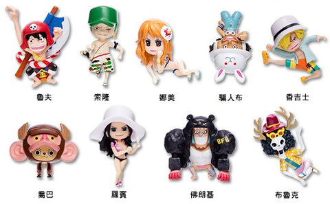One Piece Film Gold Hi-Life Limited 9 Mascot Cup Edge Trading Figure Set - Lavits Figure  - 1