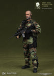 "DamToys 1/6 12"" Elite Series 93009 Navy Seal Reconteam Leader God Already Left Africa Action Figure - Lavits Figure  - 1"