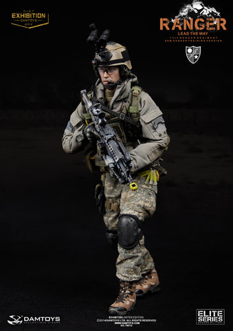 "DamToys 1/6 12"" Elite Series 78010 US Army 75th Ranger Regiment Saw Gunner Training Ver Action Figure - Lavits Figure  - 1"