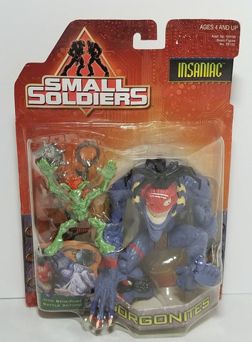 Kenner Small Soldiers Commando Elite Gorgonites Witchdoctor Insaniac Action Figure