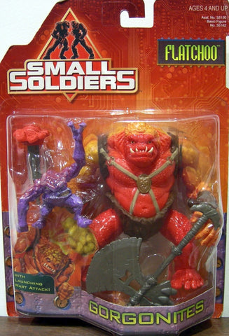 Kenner Small Soldiers Commando Elite Gorgonites Flatchoo Action Figure
