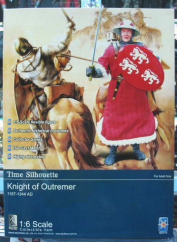 "Ignite 1/6 12"" Time Silhouette Knight Of Outremer Action Figure"